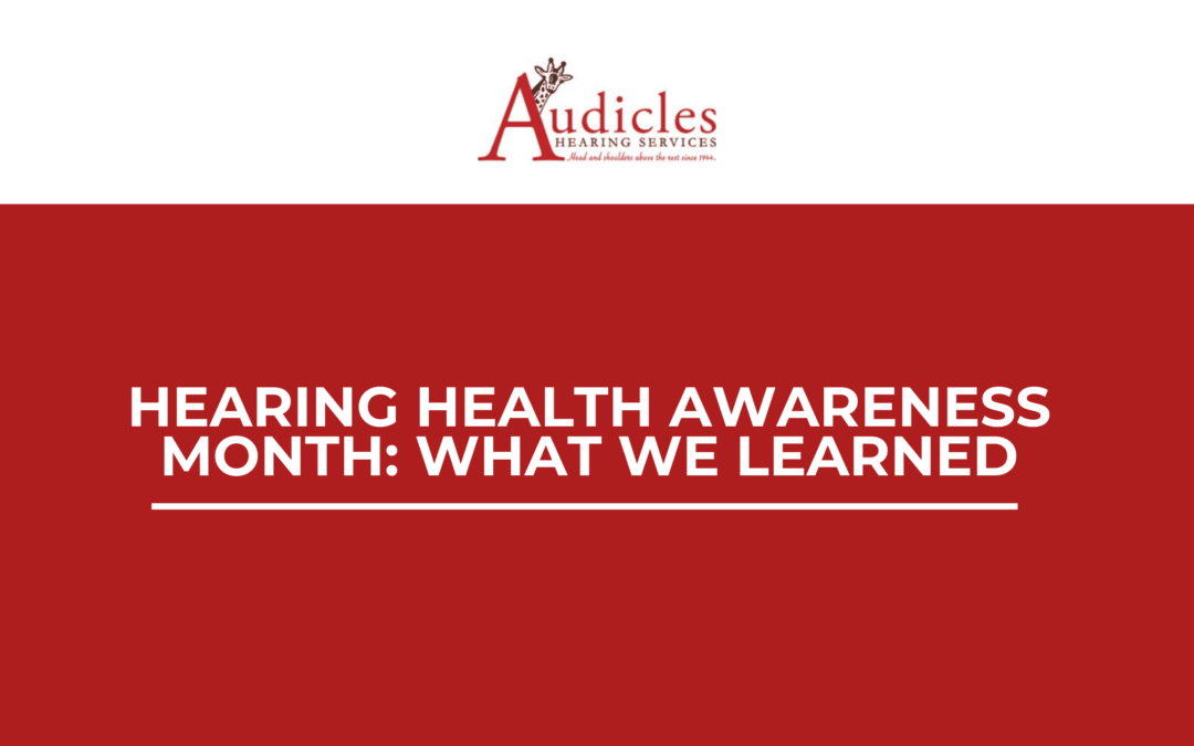 Hearing Health Awareness Month: What We Learned