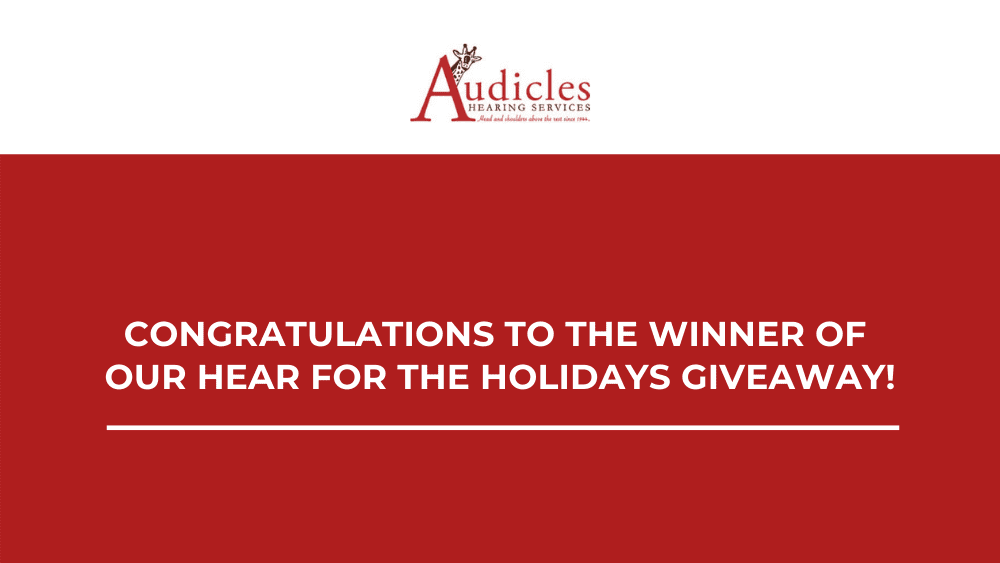 Congratulations to the Winner of our Hear for the Holidays Giveaway!
